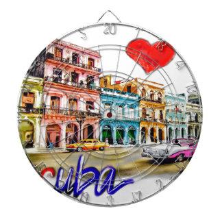 I love Cuba Dartboard