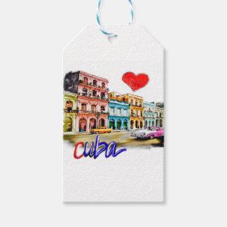 I love Cuba Gift Tags