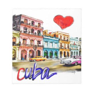 I love Cuba Notepad