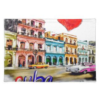I love Cuba Placemat