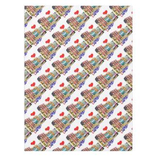 I love Cuba Tablecloth
