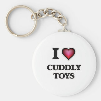 I love Cuddly Toys Key Ring