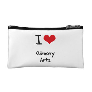 I love Culinary Arts Cosmetic Bags