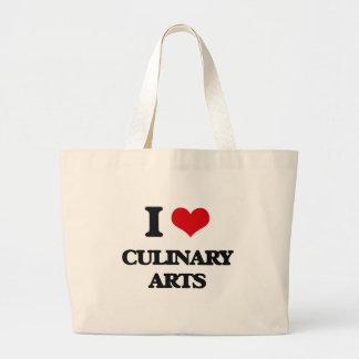 I love Culinary Arts Tote Bags