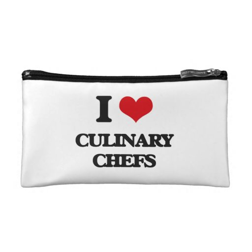I love Culinary Chefs Cosmetic Bags