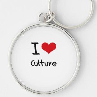 I love Culture Key Chains