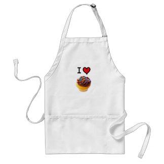 I Love Cupcakes Standard Apron