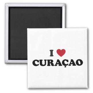 I Love Curaçao Magnet