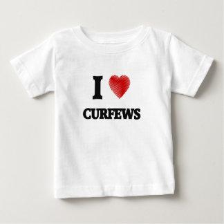 I love Curfews Baby T-Shirt