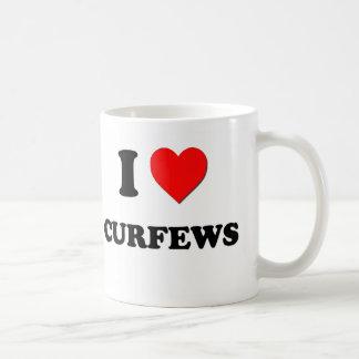 I love Curfews Classic White Coffee Mug