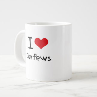 I love Curfews 20 Oz Large Ceramic Coffee Mug
