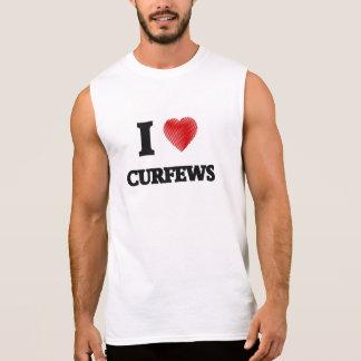 I love Curfews Sleeveless Shirt