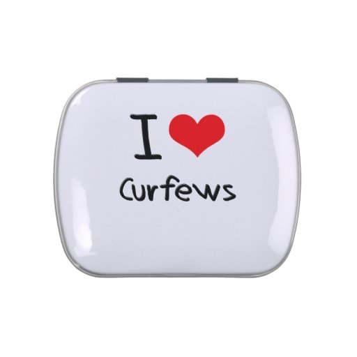 I love Curfews Jelly Belly Candy Tin