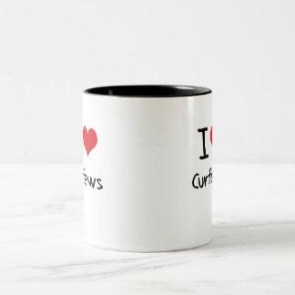 I love Curfews Two-Tone Mug