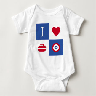 I love curling baby bodysuit
