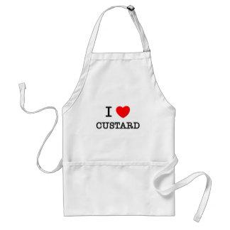 I Love Custard Standard Apron