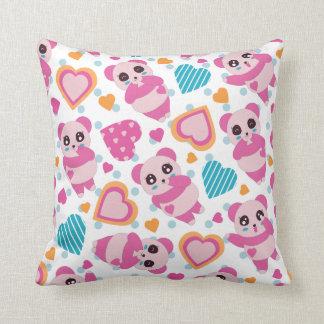 I Love Cute Pandas Cushion