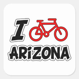 I Love Cycling Arizona Stickers