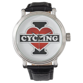 I Love Cycling Watch