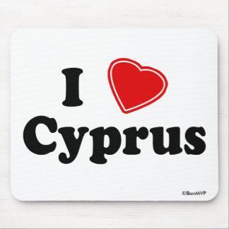 I Love Cyprus Mousepad
