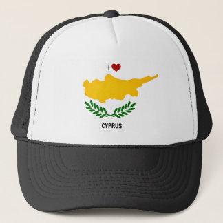 I Love Cyprus Trucker Hat