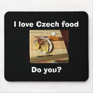 I love Czech food Mouse Pad
