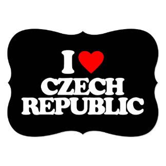 I LOVE CZECH REPUBLIC INVITE