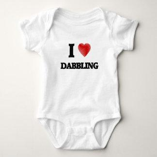 I love Dabbling Baby Bodysuit