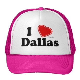 I Love Dallas Cap