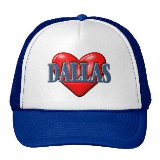 I love Dallas Texas Hat