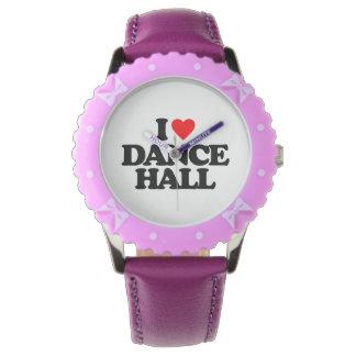 I LOVE DANCE HALL WATCHES
