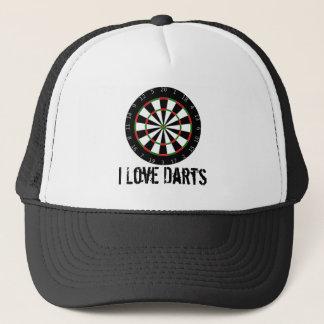 I Love Darts Hat/Cap Trucker Hat
