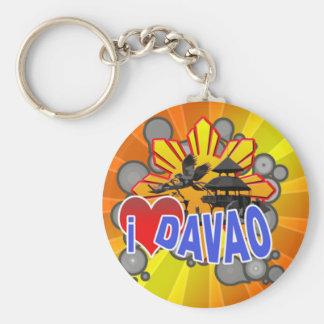I Love Davao Key Ring