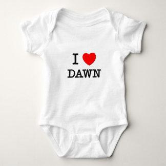 I Love Dawn Baby Bodysuit