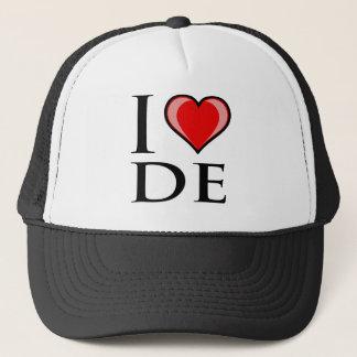I Love DE - Delaware Trucker Hat