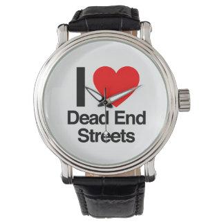 i love dead end streets wristwatch