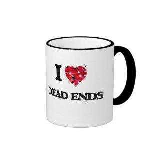 I love Dead Ends Ringer Mug