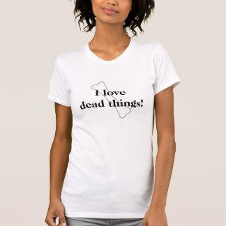 I love dead things! tanktop