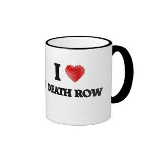 I love Death Row Ringer Mug