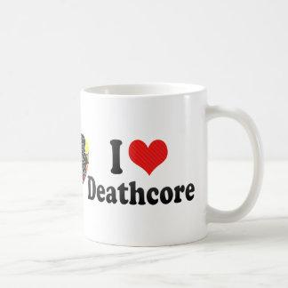 I Love Deathcore Coffee Mug
