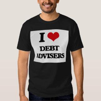 I love Debt Advisers Shirt