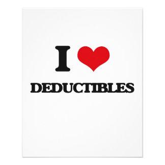 I love Deductibles Custom Flyer