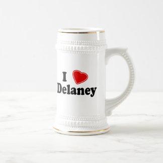 I Love Delaney Coffee Mug