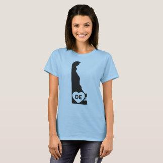 I Love Delaware State Women's Basic T-Shirt