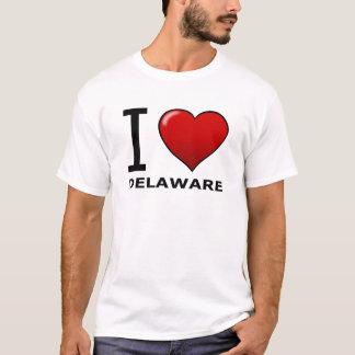 I LOVE DELAWARE T-Shirt
