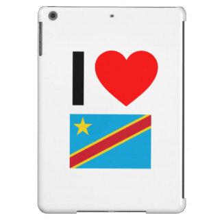 i love democratic republic of the congo iPad air cover