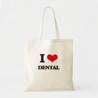 I love Dental Tote Bag