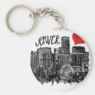 I love Denver Key Ring