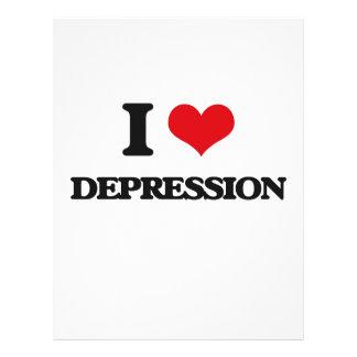 I love Depression Full Color Flyer