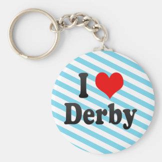 I Love Derby, United Kingdom Key Ring